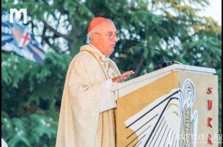 Kázeň kardinála Angela de Donatisa. Mladifest, Medžugorie 01.08. 2019