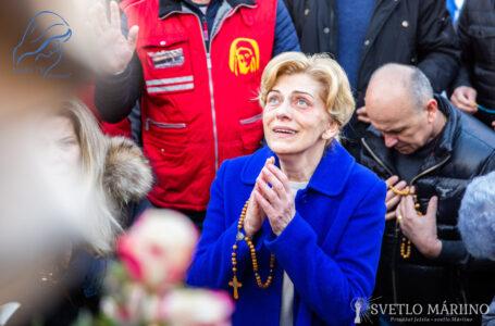 Posolstvo Panny Márie, Kráľovnej pokoja, 2. marca 2020, cez vizionárku Mirjanu Dragičevičovú-Soldovú