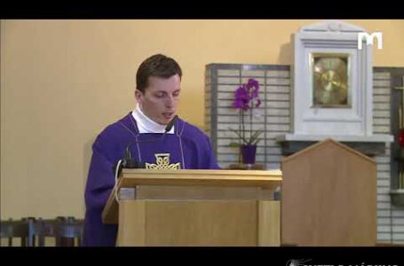 Krížová cesta, 03.04.2020, kostol sv. Jakuba, Medžugorie