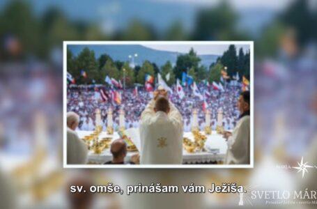 Eucharistia – päť kameňov z Medžugoria