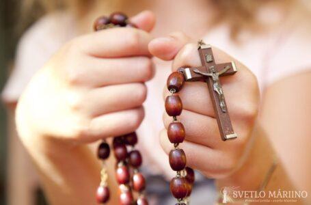 Proste ducha svätého, aby vás upevnil vo viere (Páter Ljubo Kurtovič, OFM)
