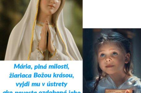 5. deň: Mária, Matka Cirkvi
