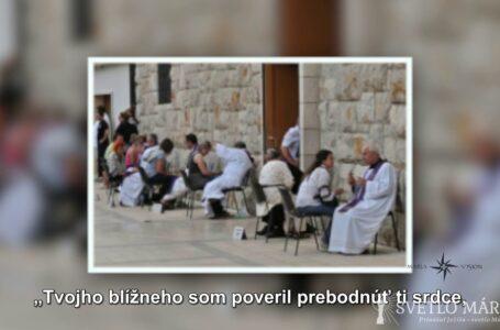 Sviatosť zmierenia – päť kameňov z Medžugoria