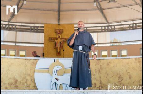 Svedectvo otca Jacka Mardešiča. Mladifest, Medžugorie 05.08.2019