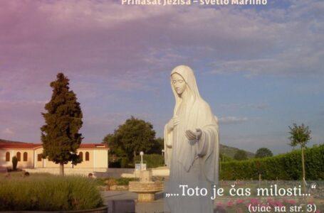 Svetlo Máriino. September 2020