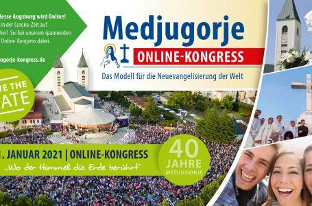MEDŽUGORIE – MODEL  NOVEJ EVANJELIZÁCIE PRE SVET  Online kongres  30.-31. januára 2021