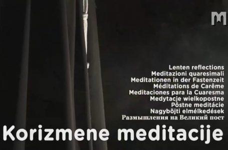 Pôstne meditácie – fra Marinko Šakota 24. 02. 2021