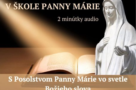 """""""V Škole Panny Márie"""""""