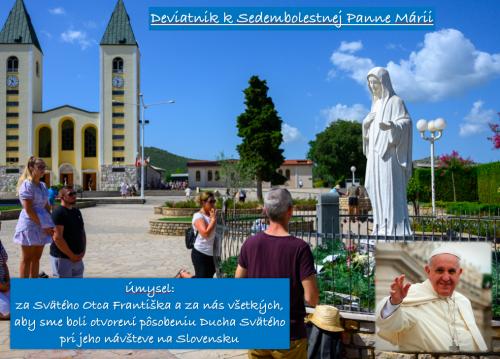 Deviatnik k Sedembolestnej Panne Márii – 7.deň